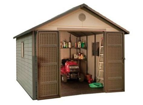 Lifetime Outdoor Storage Shed Reviews by Lifetime 60001 Outdoor Storage Shed Review