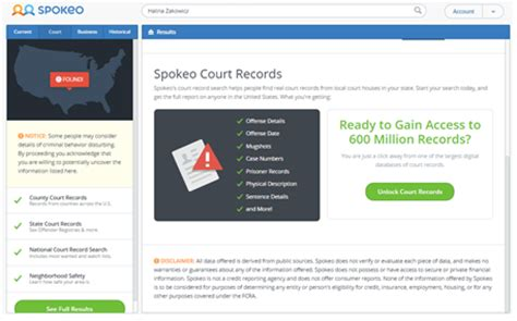 Spokeo Court Records My Review Of Spokeo Background Hawk