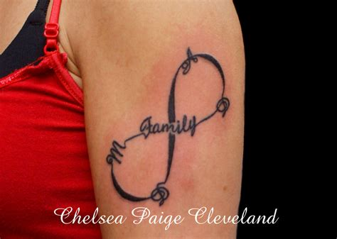 family infinity tattoo by smilinpiratetattoo on deviantart