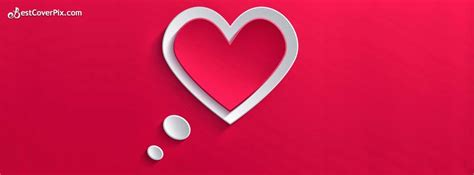 stylish heart facebook timeline cover in love stylish and super cool heart shape facebook cover