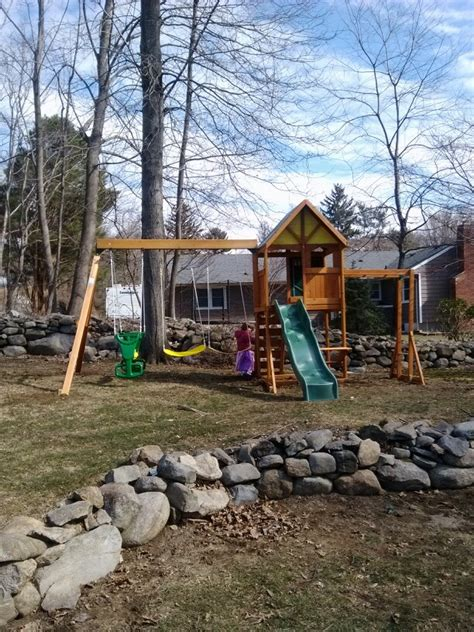 Backyard Discovery Ridgeview Big Backyard Westchester Playset From Toys R Us Installed