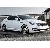 RODERICK&174  RW3 Black With Machined Face And SS Lip On Kia Optima