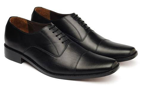Handmade Dress Shoes - handmade black oxford shoes mens black dress shoes