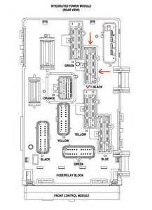 2001 chrysler voyager fuse panel diagram 2001 free