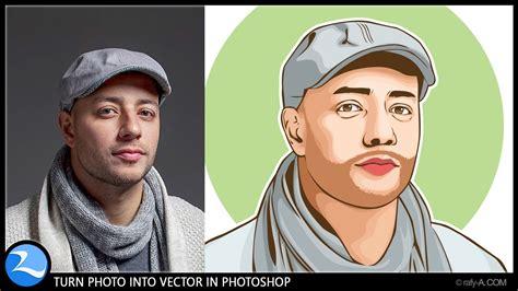 turn photo  vector  photoshop youtube