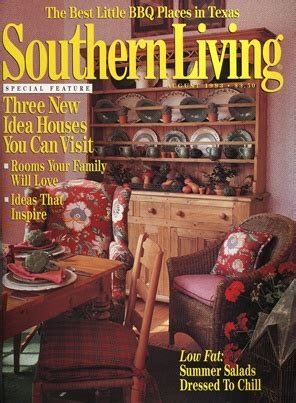 Southern House Plans With Porches August 1993 Three New Idea Houses You Can Visit