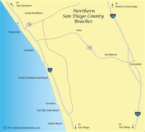california map encinitas encinitas beaches directions