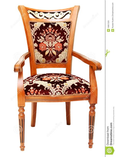 chair drapes beautiful wooden chair with expensive drapes royalty free