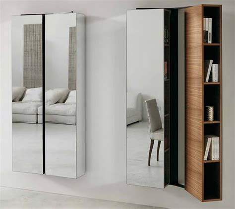 modern mirrored furniture by porada ultra modern decor