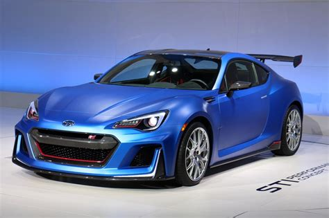 subaru sports car 2017 2017 subaru brz sti sport be a special guest at the tokyo