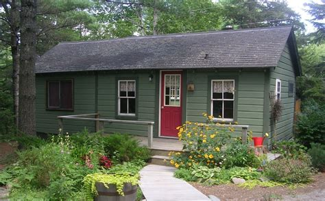 Acadia National Park Cabins by Holzhaus Blockh 252 Tte Auf Dem Land In Bar Harbor Mieten
