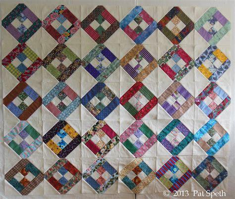 Sashing Quilt Blocks by Sashing Nickelquilts