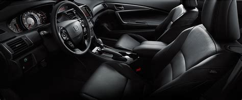 leather trimmed upholstery 2016 honda accord coupe features details official site