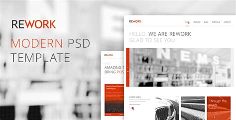 rework modern psd template by mird themeforest