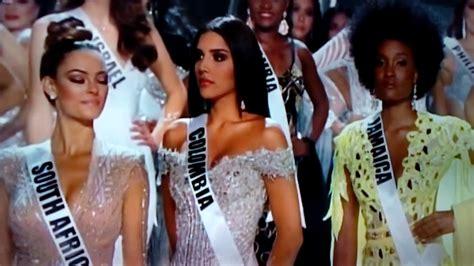 imagenes de miss universo graciosas ganadora de miss universo 2017 youtube