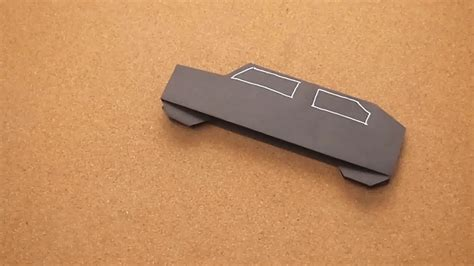 How To Make Car From Paper - how to make a paper car 13 steps with pictures wikihow