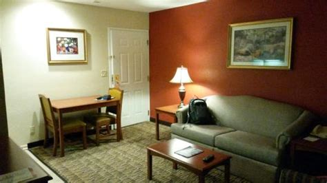 extended living room living room and dining from bedroom entrance picture of on extended stay hotels in colorado
