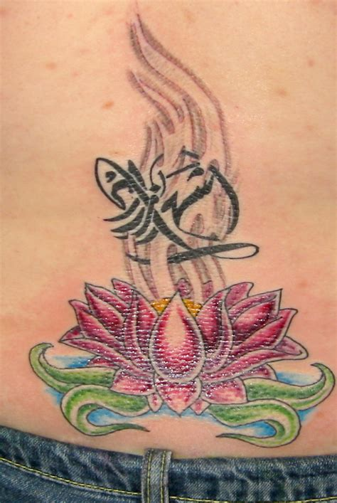 female back tattoo designs attractive designs for lower back 2011 flower lower