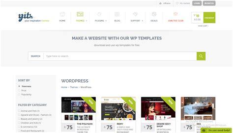 themes wordpress download premium 15 yithemes premium wordpress themes pack wpmania free
