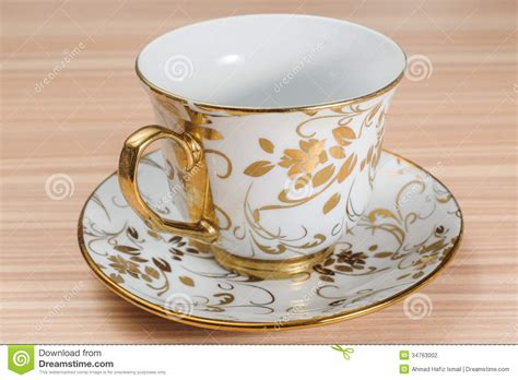 fancy cups images fancy cup saucer isolated on a table stock photography