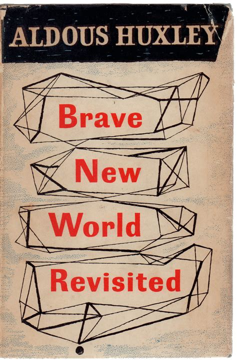 Pdf Brave New World Revisited brave new world revisited by aldous huxley chairish
