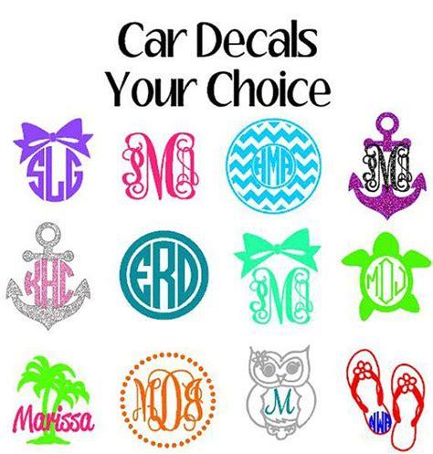 monogram ideas best 25 monogram car decals ideas on pinterest car