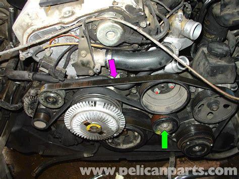 Fan Belt mercedes w210 serpentine belt replacement 1996 03