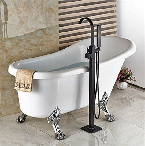 Freestanding Tub Faucet Rubbed Bronze by Modern Freestanding Bathtub Faucet Tub Filler Rubbed