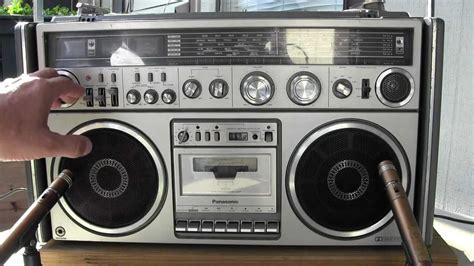 Jumbo Crown Mw panasonic rx 7700 fm mw sw 5 band stereo radio cassette