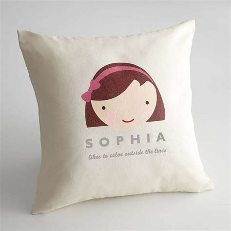 Customized Pillows by Customized Child Cushions Personalized Faces Pillow