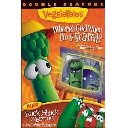 veggietales where s god when i m scared