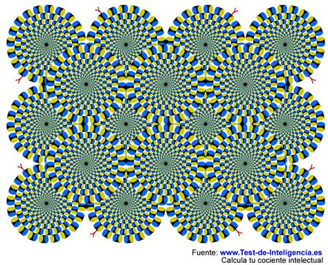 ilusiones opticas que parecen moverse ilusiones 243 pticas del profesor akiyoshi ilusiones