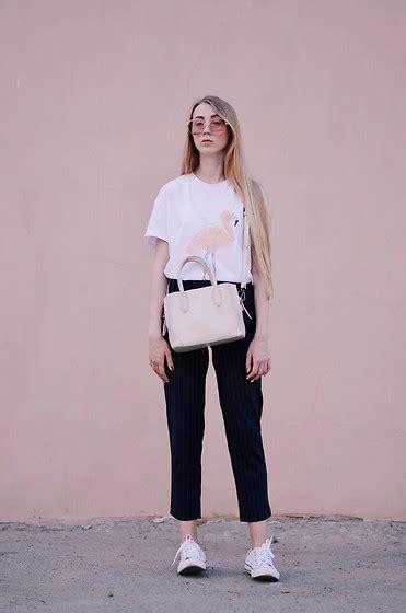 Zara Flamingo Dress zaful t shirt zaful zara bag sammydress