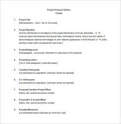 outline template word project outline template 10 free word excel pdf
