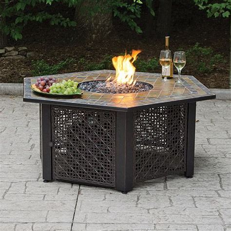 gas firepit tables 17 best images about on pits