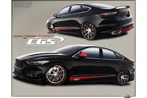 Ford Fusion Performance 2014 Ford Fusion Given 400 Hp For Sema