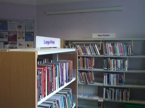 value library signage from thirsk
