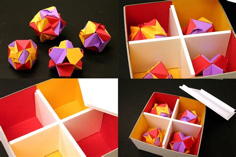 Origami Chocolate Box - origami chocolate box by dhavatar on deviantart