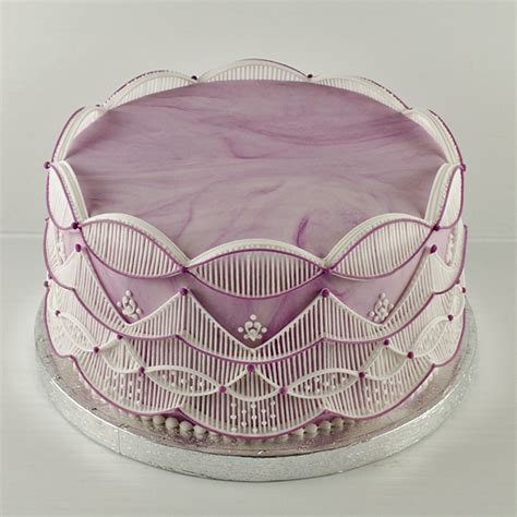 String Work - spectacular stringwork cakes