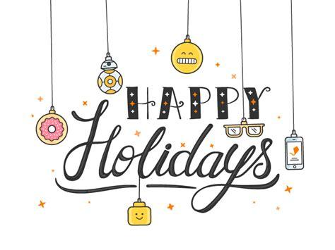 Happy Holidays by 161 Happy Holidays By Wanda Arca Dribbble