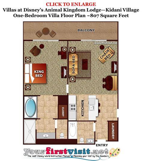 kidani village floor plan living kitchen dining space at kidani village at disney s