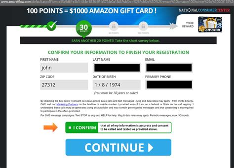National Consumer Center 1000 Gift Card - congratulations amazon user amazon pop up and iphone x or gift card scam telapost