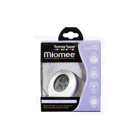 Thermometer Tommee Tippee tommee tippee miomee bath and room thermometer