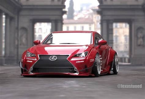 lexus rcf widebody lexus rc gets custom widebody for sema forcegt com