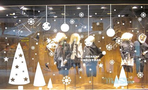 wall decoration for new year wall decor fashion tree wall sticker store