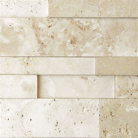 travertine wall nysa travertine stack stone qdi surfaces
