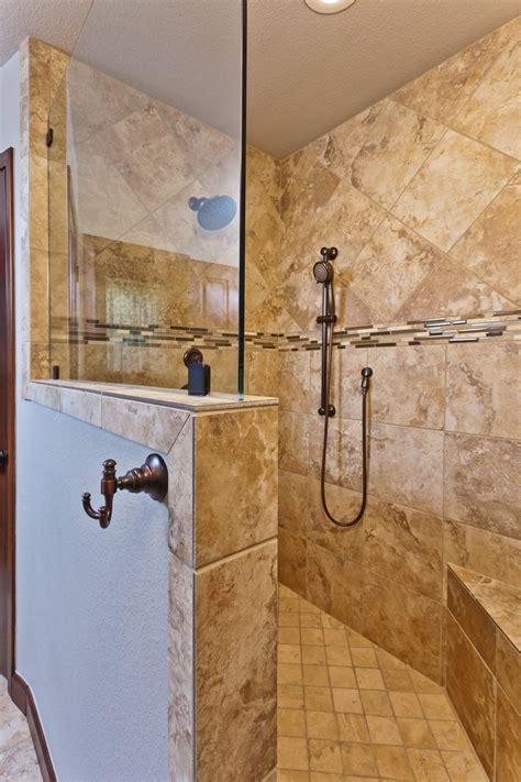 Kalinowski Master Bath Remodel Beautiful Walk In Shower   kalinowski master bath remodel beautiful walk in shower