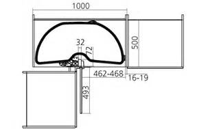 meuble d angle cuisine et billot adapt 233 s pour am 233 nager une