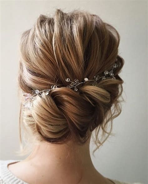 wedding hairstyle ideas for hair 25 best ideas about bridal hair on bridesmaid