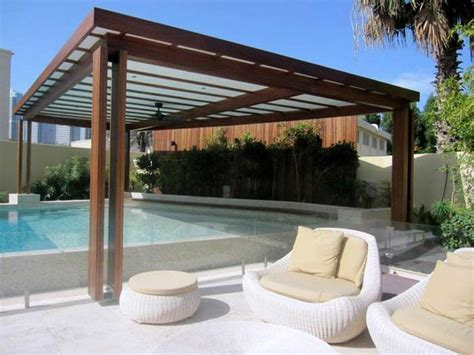 Pergola Over Pool Contemporary Landscaping Pinterest Pool Pergola Designs